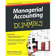 Managerial Accounting for Dummies by Holtzman, Mark P., 9781118116425
