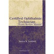 Certified Ophthalmic...,Ledford, Janice K.,9781556426483