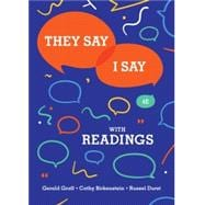 They Say / I Say with Readings (Access Card) (w/Little Seagull Handbook, InQuisitive for Writers & Tutorials) by Graff, 9780393656497