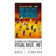 Introduction to Programming with Visual Basic.NET, An,9780130306579