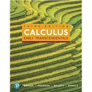 Calculus Early Transcendentals, Books a la Carte, and MyLab Math with Pearson eText -- 24-Month Access Card Package