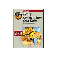 Heavy Construction Cost Data 2003