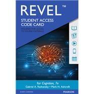 REVEL for Cognition -- Access...,Radvansky, Gabriel A.;...,9780134476766