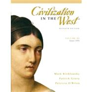 Civilization in the West, Volume 2 (since 1555),9780205556861