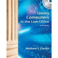 Using Computers in the Law Office (Book Only),9781439056912