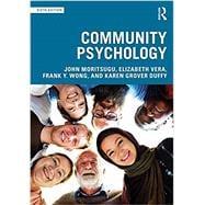 Community Psychology by Moritsugu; John, 9781138747067