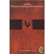 Akbar Papers In African Psychology