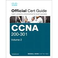 CCNA 200-301 Official Cert Guide, Volume 2 by Odom, Wendell, 9781587147135