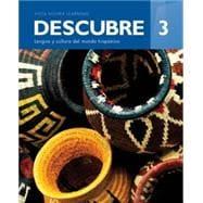 Descubre ©2017, Level 3 Textbook w/ Supersite Plus Code (eBook)