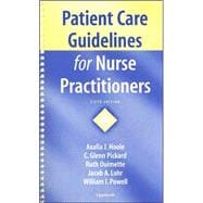 Patient Care Guidelines for Nurse Practitioners