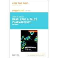 Rang & Dale's Pharmacology - Pageburst E-book on Kno Retail Access Card