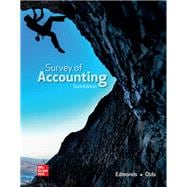 Survey of Accounting by Thomas P Edmonds, 9781260247770