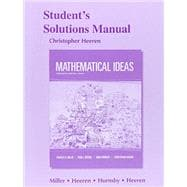 Student's Solutions Manual for Mathematical Ideas