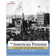 The American Promise, Volume 1 To 1877
