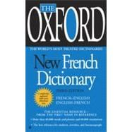 The Oxford New French Dictionary Third Edition by Unknown, 9780425228616