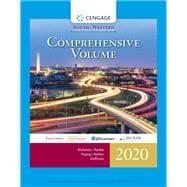 South-Western Federal Taxation 2020 Comprehensive (with Intuit ProConnect Tax Online & RIA Checkpoint, 1 term (6 months) Printed Access Card) by Maloney, David M.; Raabe, William A.; Young, James C.; Nellen, Annette; Hoffman, William H., 9780357109144