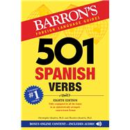 501 Spanish Verbs by Kendris, Christopher, Ph.D.; Kendris, Theodore, Ph.D., 9781438009162