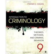 Introduction to Criminology by Hagan, Frank E., 9781483389172