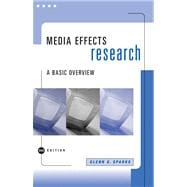 Media Effects Research : A Basic Overview,9780534629175