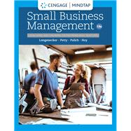 MindTap for Longenecker/Petty/Palich/Hoy's Small Business Management: Launching & Growing Entrepreneurial Ventures, 1 term Instant Access