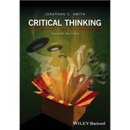 Critical Thinking...,Smith, Jonathan C.,9781119029359