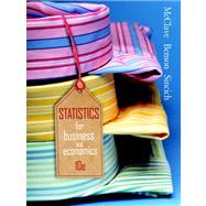 Statistics for Business & Economics Value Pack (includes PHIT TIPS: Excel 2002 & Student's Solutions Manual)