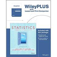 Statistics: Unlocking the Power of Data Loose-leaf + 2e WileyPLUS Registration Card