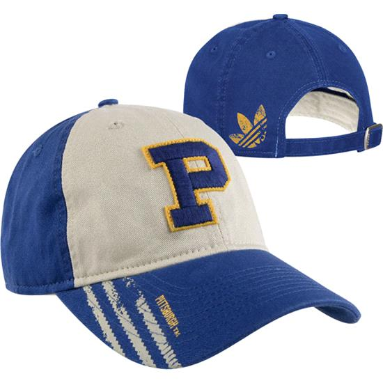 Pittsburgh Panthers adidas Vault Logo Slouch Adjustable Hat