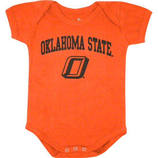 Oklahoma State Cowboys Newborn/Infant Orange Big Fan Creeper