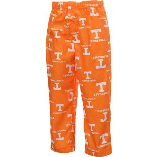 Tennessee Volunteers Kids 4-7 Ten Orange Team Logo Printed Pants