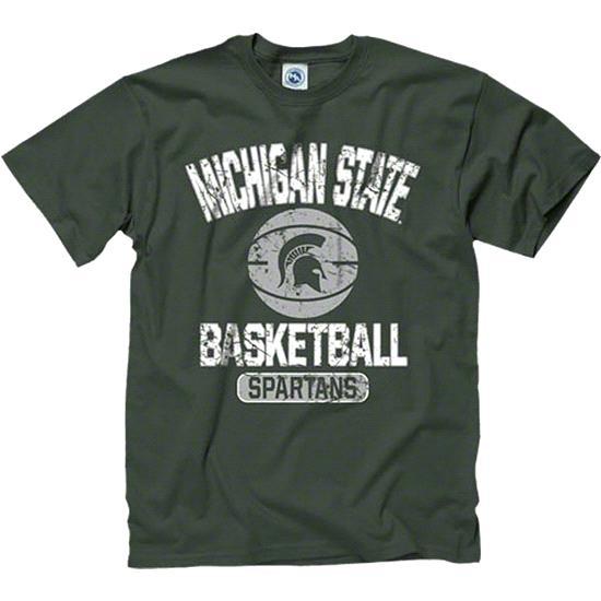 Michigan State Spartans Dark Green Youth Ballin' T-Shirt