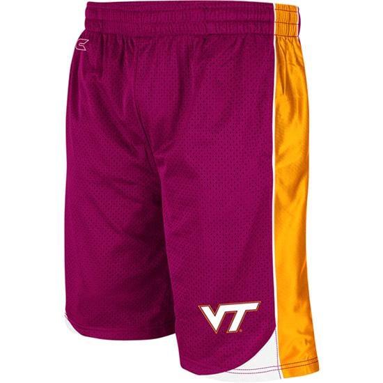 Virginia Tech Hokies Maroon Youth Vector Shorts