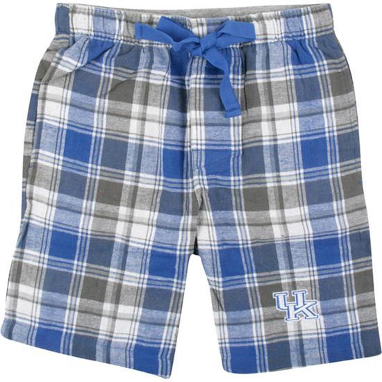 Kentucky Wildcats Royal/Charcoal Legend Flannel Shorts