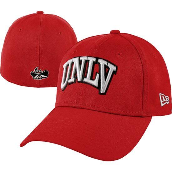 UNLV Runnin Rebels New Era Red 39THIRTY Classic Flex Hat