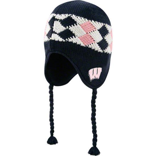 Wisconsin Badgers Women's '47 Brand Machu Knit Hat