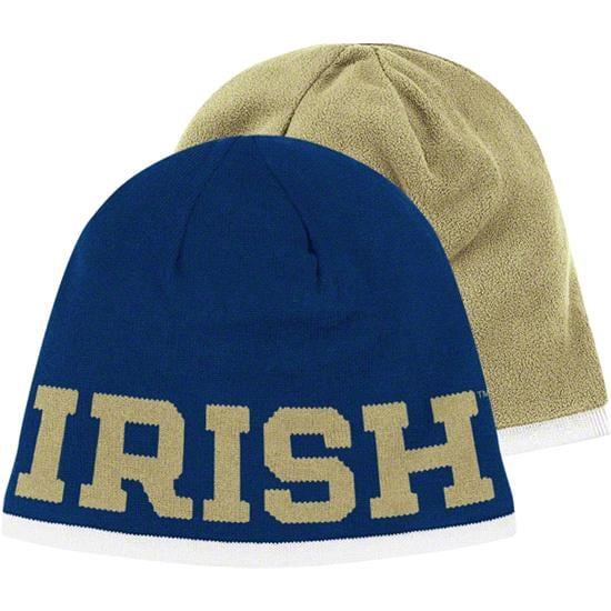 Notre Dame Fighting Irish adidas 2011 Sideline Football Players Reversible Knit Hat