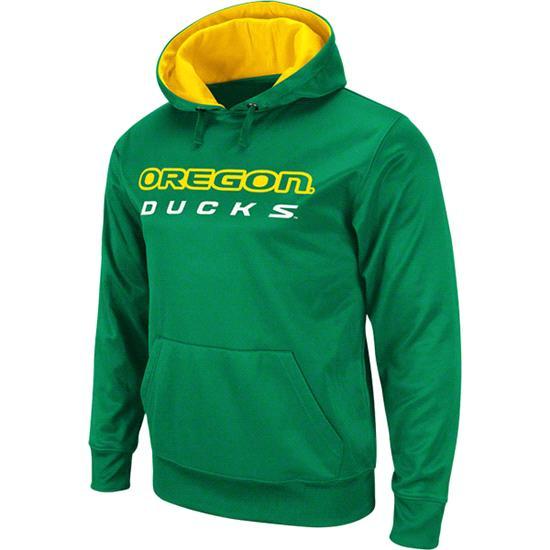 Oregon Ducks Green Bootleg Hooded Sweatshirt